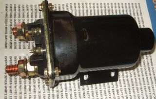 Delco Remy Large Starter Solenoid Oliver White Tractor