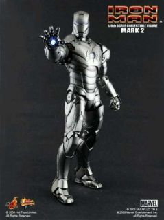 Hottoys Iron Man Mark II Action Figure Version 1