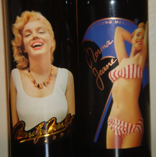2003 Marilyn Monroe Merlot Norma Jeane 6th Vintage Red Wine Full Mint
