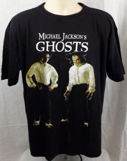 Michael Jackson`s Ghosts Vtg 1997 T Shirt XL Pre Owned