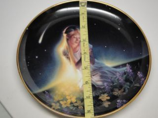 Crystal Maiden Crystal Power Jeane Dixon The Franklin Mint Plate