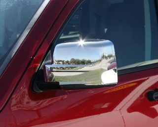 Jeep Liberty Patriot Chrome Mirror Covers 2007 2010