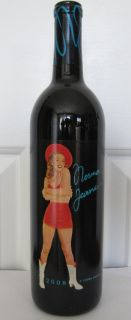 NEW* 2008 NORMA JEANE MERLOT 11TH VINTAGE WINE SEALED BOTTLE MARILYN