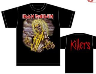 Iron Maiden Killers T Shirt Metal New s M L XL