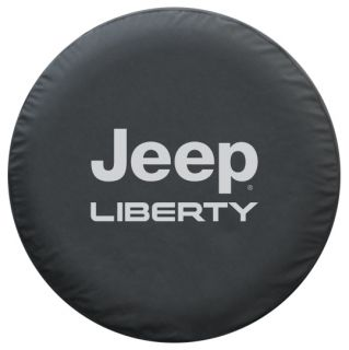 Jeep Liberty Premium Spare Tire Cover Black Denim 2002 2007