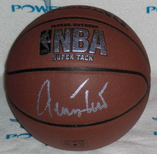 JERRY WEST SIGNED FULL SIZE NBA REPLICA BASKETBALL Los Angeles Lakers