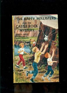 Happy Hollisters 23 Castle Rock by Jerry West