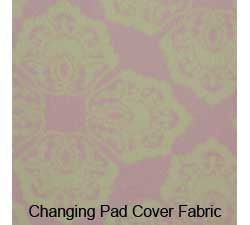 Jill McDonald Lullabye Breeze Changing Pad Cover