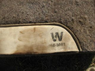 Ed Wright 100 Wool Western Barrel Racing Saddle Pad Used