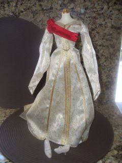 FRANKLIN MINT CZARINA ALEXANDRA PRINCESS DOLL DRESS GOWN ENSEMBLE for