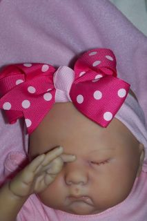 ITS A GIRL *JOCELYN* REALISTIC REBORN NEWBORN BABY GIRL 3D SKIN MUST
