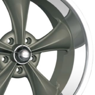 Ridler 695 Wheels, 18x8 fr + 18x9.5 rr, fits CHEVY GMC C10 C1500