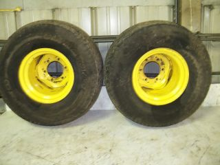 John Deere 3215A Front Drive Tires and Rims