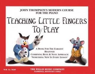 John Thompson's Teaching Little Fingers to Play Piano