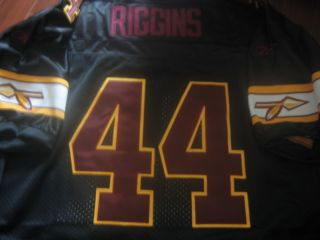 Washington Redskins Throwback 44 John Riggins w HF Patch sewn Jersey 56 NEW TAG