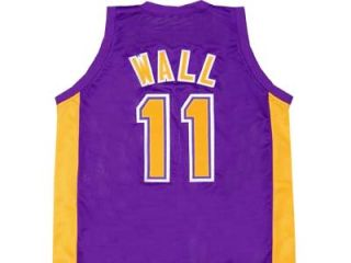 John Wall Holy Rams High School Jersey Purple Any Size