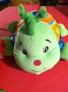 Kids II Bright Starts Turtle Motion Melody Shapes Talking Moving Toy