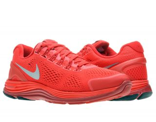 Nike Lunarglide 4 University Red Silver Mens Running Shoes 524977 606
