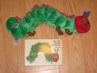 Kids Preferred The Very Hungry Caterpillar Plush Baby Toy Eric Carle