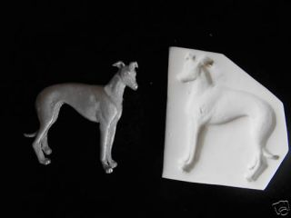 Grey Hound Dog Polymer Clay Push Mold Nice Mold