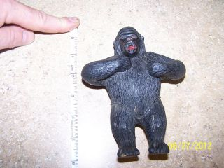 Vintage 6 Rubber King Kong PVC Action Figure