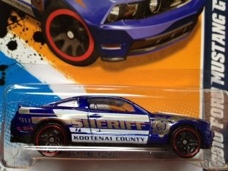 Wheels 2010 Ford Mustang GT Kootenai County Sheriff New Color