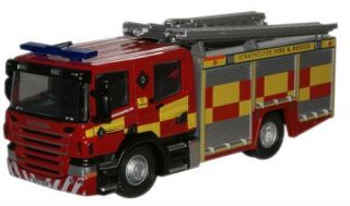 Strathclyde Scania CP28 Pump Ladder Fire Engine Truck 76SFE006