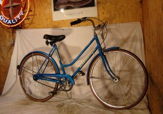 Collegiate Ladies 3 Speed Road Cruiser Bike Breeze Bicycle Nice