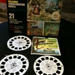 Talking View Master Reels with Sound Jungle Book