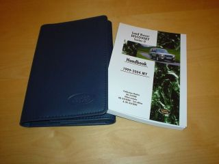 LAND ROVER DISCOVERY 2 II TD5 V8 HSE SE Owners Manual Handbook Guide