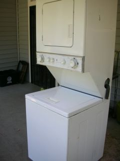 GE Heavy Duty Stacked Washer and Dryer