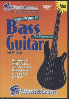 Learn to Play Bass Guitar Rock and Roll Jazz Country Blues for