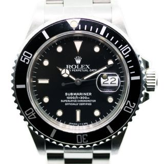 Rolex 16610 Submariner Stainless Steel Watch
