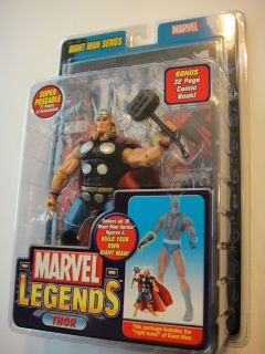 Marvel Legends Thor w Comic Giant Man Series Action Figure RARE
