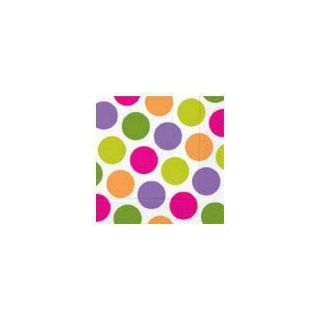 Luncheon Paper Napkins Girl Party Pink Purple Lime Green Orange