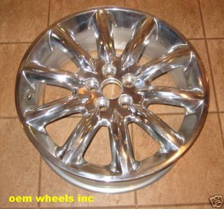 Lincoln MKT MKS MKZ Factory Wheels Polished 20