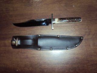 Sheffield Bowie Knife Stag Handle