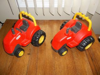 Little Tikes Red Farm Tractor x 2