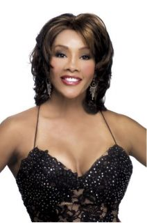 Pure Stretch Cap Deeep Lace Front Layered in Curls Loretta Wig