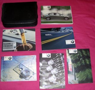2003 03 BMW 3 Series Owners Owners Manual Guide Book OEM 320 325 330 i