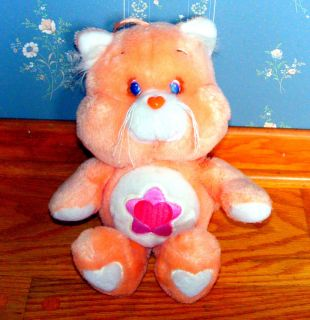 Care Bear Proud Heart Cat UK Vintage