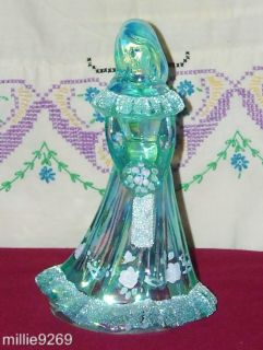 Fenton 96 Bridesmaid Doll Green Carnival for  Fenton # C5228BL