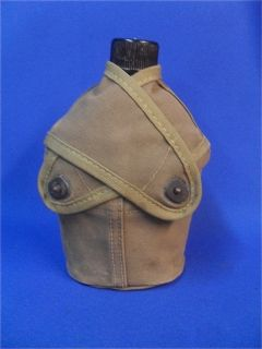 Complete WW2 USMC Marine Corps 1st Pattern Water Canteen