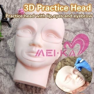 Head Model Practice Skin Cosmetic Makeup Supply MUP3022