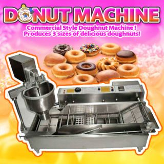 Factory Direct Commercial Donut Making Machine Doughtnut Maker Fryer