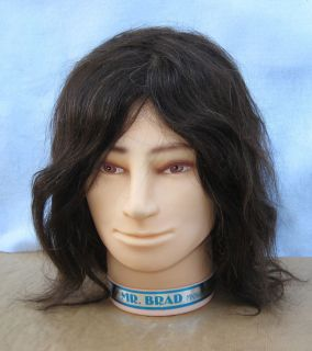 Marianna Mr Brad Male Cosmetology Manikin Head Human Hair