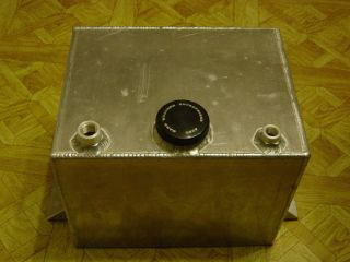 Mark Williams Enterprises Aluminum Fuel Cell Gas Tank 13 W x 10 T x 10
