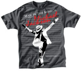 Michael Jackson T Shirt Man in The Mirror