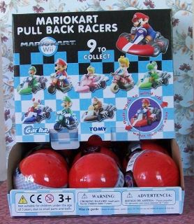 Super Mario Bros Wii MarioKart Pull Back Racers One Random SEALED