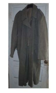 Mens Womens WWII World War II Vintage Military Trench Coat 1943 104